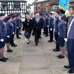 ATC guard of honour & Mayor
