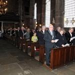 Church front pews RHS choir procession