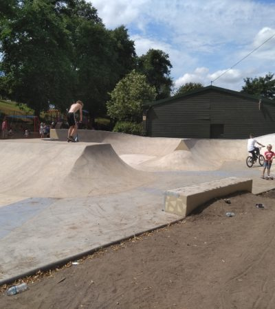 Skate Park Official Opening
