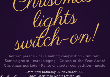 Christmas Light's Switch On